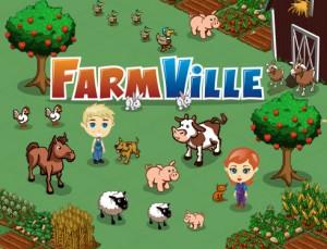 Online hra Farmville na Facebook.com