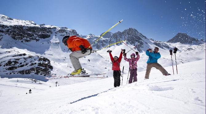 Nejlepší lyžovaní? Tignes a Val d'Isère ve Francii