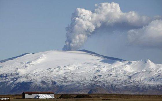 Islandská sopka Katla ohrožuje Evropu