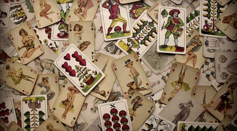 Cards Game Poker Composition Old  - michi2084 / Pixabay