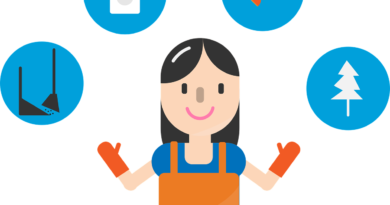 Cleaning Service Character Woman  - tagechos / Pixabay